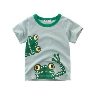 【 Ready Stock 】1-10 Years Baby Kids TShirt For Boys Girls Cotton Top