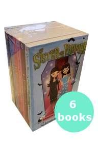 🚚 My Sister The Vampire (book 10 to 16)
