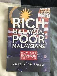 Rich Malaysia, Poor Malaysians by Anas Alam Faizli