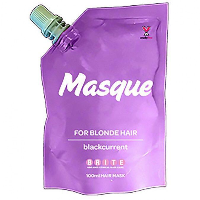 10 x Brite Organix Hair Masque Treatment Mask for Blonde Hair - Blueberry RRP$99.99