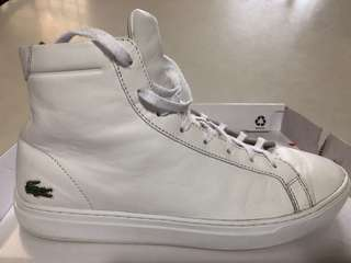 93fbf7d23022 Genuine Lacoste Leather high-cut boots   shoes