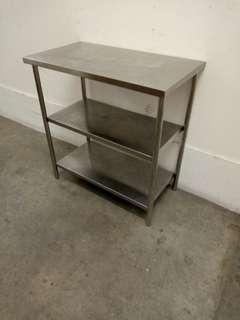 FREE DELIVERY Small Stainless steel table