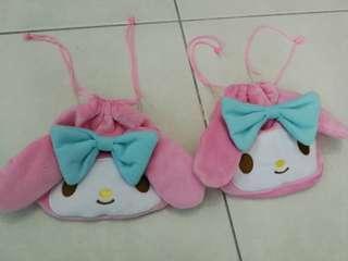 Hello kitty pouch bag