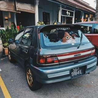 Toyota Starlet Manual