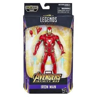 Marvel Legends Iron Man Infinity War Mark MK 50