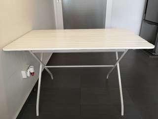Dining table and bench seat