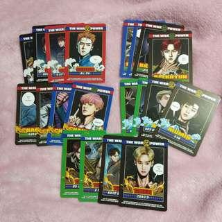 EXO OFFICIAL POWER SOLUTION PHOTOCARDS