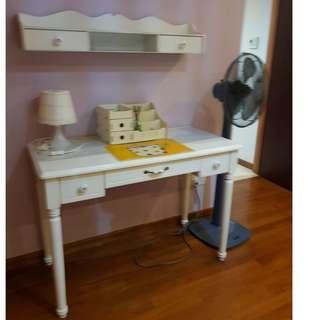 Vintage Style Study Table