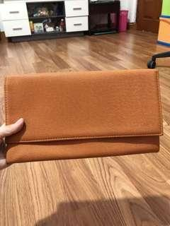 Clutch tas kondangan warna brown