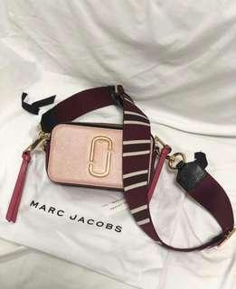 Marc Jacobs Snapshot Small Camera Bag Rose Multi