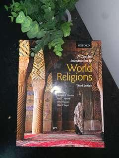 A concise introduction to World Religion