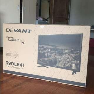 """Brand New DEVANT 39"""" LED TV"""