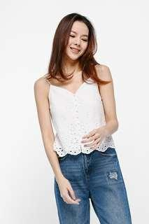 BNWT Arden Broderie Anglaise Camisole Top