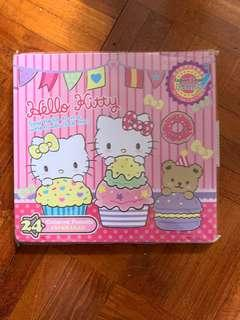 Hello Kitty 24色顏色筆(符合歐洲安全標準)