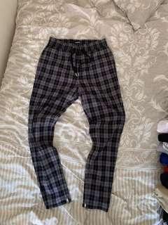 Zanerobe plaid skinny pants