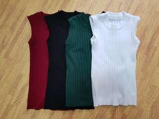 🚚 Knitted muscle tank tops