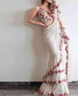 🚚 Ruffle sarees