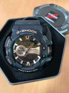Casio GSHOCK, Model: GA-400GB-1A4, Rose Gold