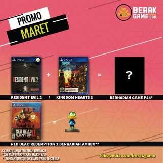 PS4 Promo Bulan Maret
