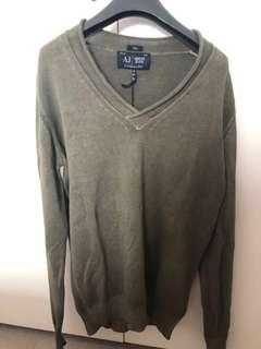 Armani Jeans brand new with tags Men sweater 100% cotton