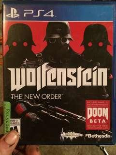 Wolfenstein PS4 game