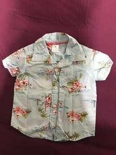 Carters Hawaiaan Boy Shirt
