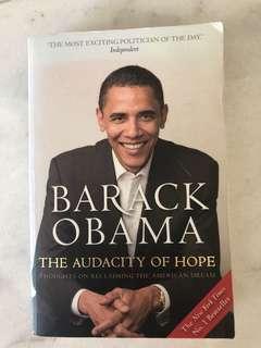 Audacity of Hope by Barack Obama