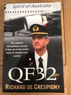 QF32 by Richard De Crespigny (signed by author)