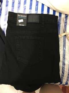 全新韓國 Gmarket 黑色超彈貼身牛仔褲 👍🏻