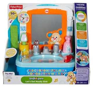 Brand New Fisher Price Lets Get Ready Sink