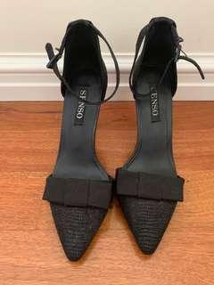 Senso 'Raine' Black Heels Sz 38