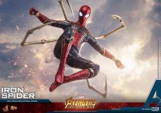 Hot Toys Infinity War Iron Spider