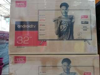 Led tv TCL 32 Inc android TV credit bunga 0%