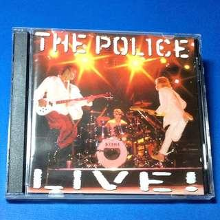 CD The Police LIVE