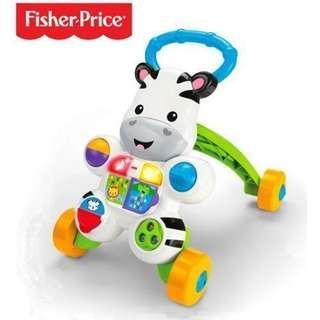 全新Fisher price 學行車/學步車