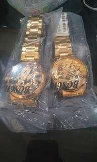Gold dragon watch