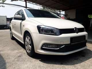 2016 VOLKSWAGEN POLO 1.6 NEW FACELIFT (A) GOOD CONDITION