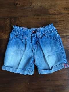 MOTHERCARE celana pendek denim jeans sz 7-8