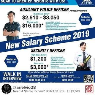 Aetos Auxiliary Police Officer/ Enforcement