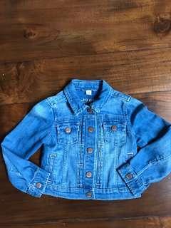 GAP kids Denim jeans Jacket sz XS