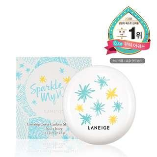 LANEIGE Sparkle My Way Layering Cover Cushion + Concealing Base #21 Beige - Laneige Cushion