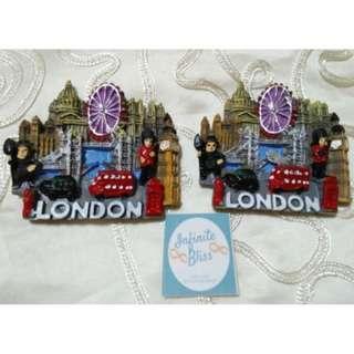 London Ceramic Ref Magnet (Best seller)