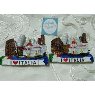 I Love Italia Ceramic Ref Magnets