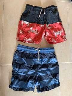Cotton on beach shorts size 5
