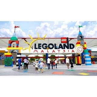 Legoland E-tickets