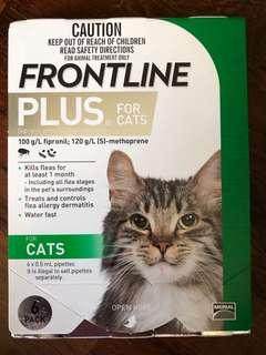 🚚 Frontline Plus for Cats (6 Doses)