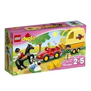 Brand New LEGO Duplo Horse Trailer 10807