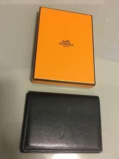 Hermes Card Holder in Calfskin