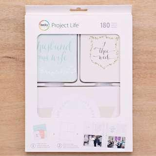 Project Life Southern Weddings Edition Core Kit