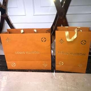 Paperbag Louis Vuitton Limited Edition